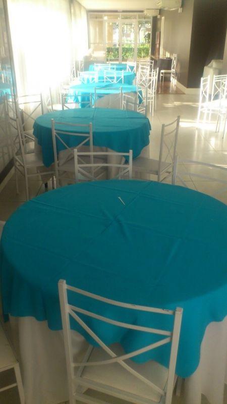 Aluguel Mesas e Cadeiras na Vila São José - Locação de Mesa