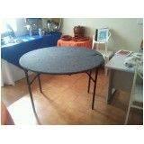 Aluguel de mesas no Campo Grande