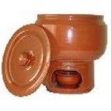 Rechaud ceramica na Vila dos Ferroviários