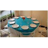 Serviços de locação de rechaud e mesas no Jardim Neide